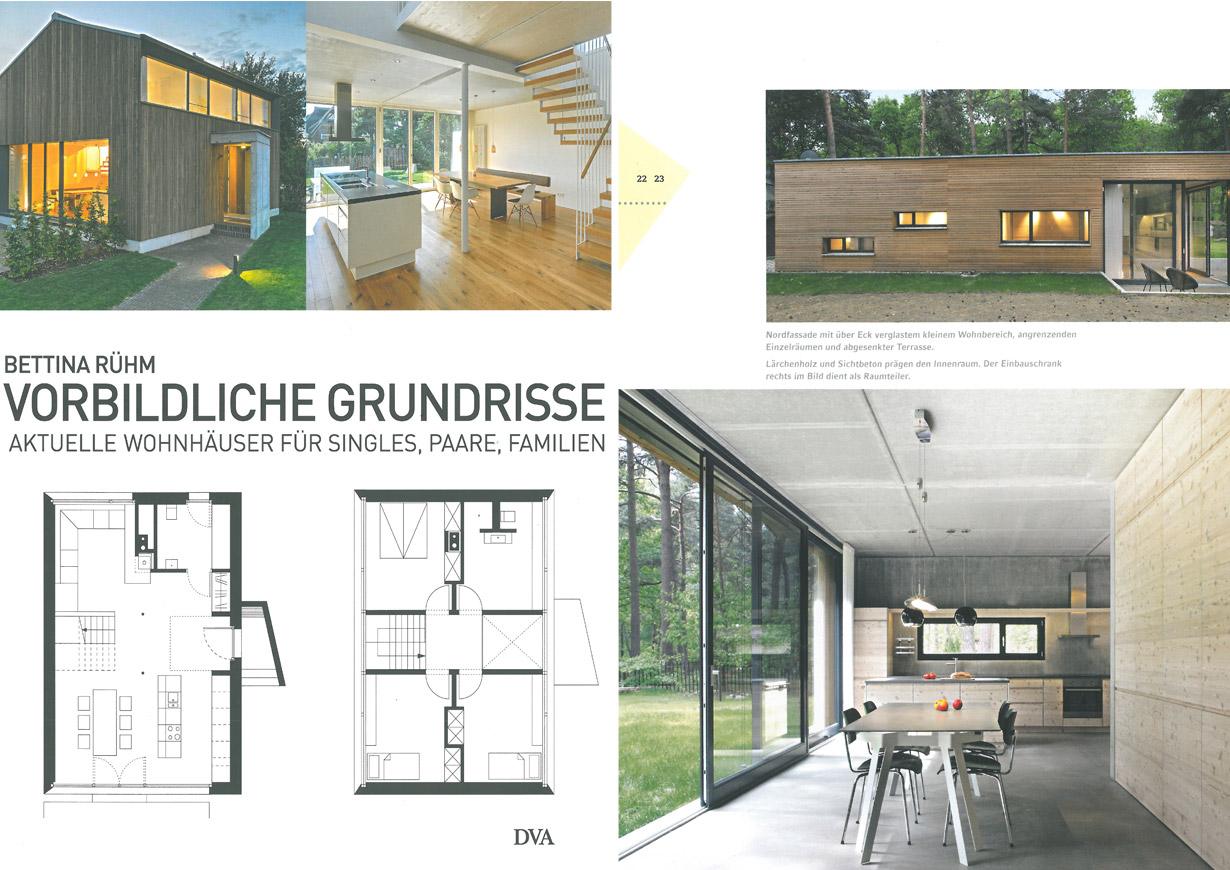 Publikationen anne lampen architekten architektin in for Familienhaus berlin